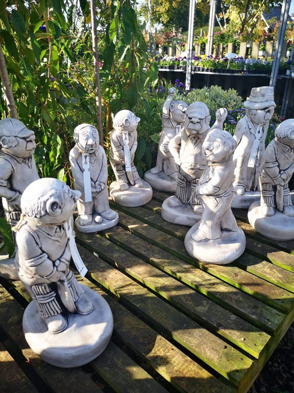 Brighten up your garden with one of our many statues