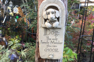 Family Dog plaque